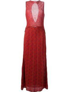 a0e4b0347dca Vestidos de Verão- Vestidos Estampados. Vestido longo canelado