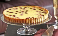 Sour Cherry Custard Tart