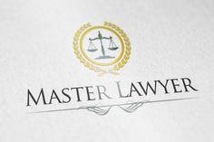 Master Lawyer logo by vectorlogos89 on Creative Market