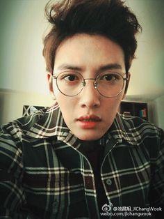 He knows he's cute :3 #JiChangWook <3 <3 <3
