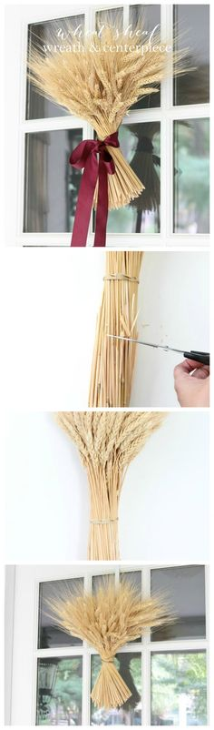 Easy DIY wheat sheaf