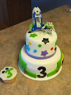 Toy Story cake: to infinity and beyond :)