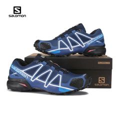 dd9c358f2c886 New Cheap Salomon Speedcross 4 Sport Sneakers Men Running Shoes Speed Cross  4 black Mesh Shoe For Male Fencing Shoes 40-46. Yesterday s price  US   45.00 ...