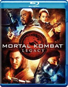 Brand New Mortal Kombat: Legacy (Blu-ray Disc)