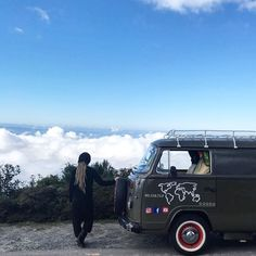 It is better to have your head in the clouds and know where you are... than to breathe the clearer atmosphere below them and think that you are in paradise.  #melevatrip #nature #love  #travellers #tbt #brazil #followus #natura #goodvibes #instalove #canaloff #instagram #wild #offroad #vwvan #vanjavenuti #clouds #fuoristrada #instagood #womandriving #photooftheday #vanlife #amazing #adventure #kombihome #kombi #kombilovers #sky