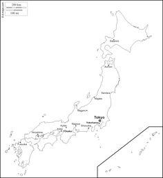 Un Lecteur Du Moniteur Les Débuts Du Journalisme - Japan map blank outline