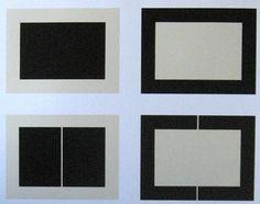 Donald Judd Four of Ten Untitled Woodblock Prints 1991