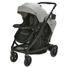 The only stroller you'll need, the Graco starts out as a single stroller and expands into a double to grow with your family. This fully featured stroller has an easy one-hand fold for storage and the main seat reclines into a bassinet. Jogging Stroller, Pram Stroller, Convertible Stroller, Double Baby Strollers, Single Stroller, Thing 1, Baby Comforter, Baby Bassinet, Travel System