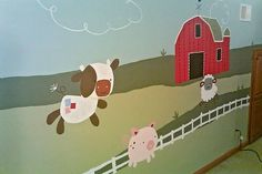 Farm theme nursery