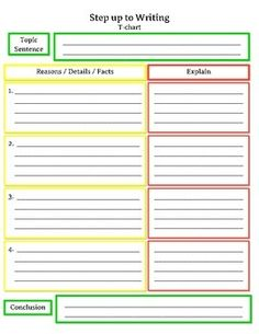 step up to writing graphic organizers Graphic organizers, step up to writing  this file takes students step by step to think about how to unpack a  using step up to writing,.