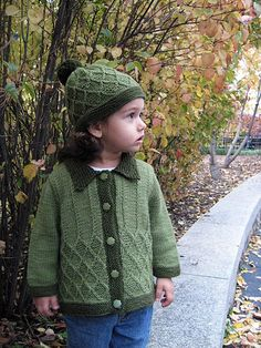Ravelry: Adam&Eve Unisex Baby/Toddler Sweater and Hat knit pattern by Sami Kaplan
