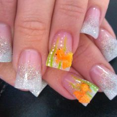 Fish nails..make those amethyst and perfect for pices :-)
