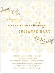 chic and unique baby shower invitations tinyprints blog elegant baby shower invitations 416x560