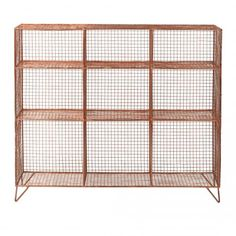 Oliver Bonas-Grid Nine Shelf Storage Unit