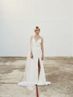 Australian bridal designer, creating fashionable, relaxed wedding gowns for today's modern bride. All wedding dresses are made in Australia for the modern fashionable bride. Chic Wedding Dresses, Lace Wedding Dress, Wedding Gowns, Reception Dresses, Bluebell Bridal, Bridesmade Hair, Draped Skirt, Relaxed Wedding, Ivoire