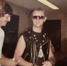 Rob Halford...Judas Priest Concert...Jacksonville, Florida 1984