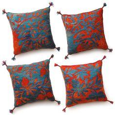 Felted cushions, 40 x 40 cm/piece www. kovacsgabriella.hu