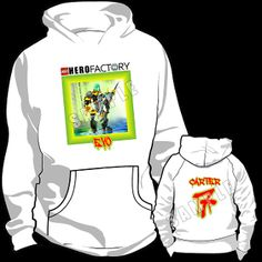 HERO FACTORY HOODED SWEATSHIRT