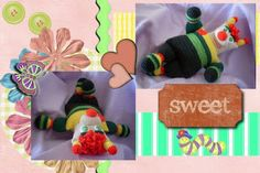 Hilariously crazy cute! Spring Love Bug  #crochet #amigurumi #toys #kids #handmade