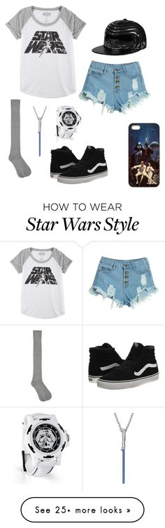 """""""STAR WARS A NEW ERA"""" by yourlovewillneverlast on Polyvore featuring Hybrid, WithChic, M&Co and Vans"""