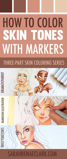 Secrets Of Drawing Realistic Pencil Portraits - How to Color Skin Tones Colouring Techniques, Drawing Techniques, Drawing Tips, Skin Drawing, Drawing Art, Learn Drawing, Baby Drawing, Drawing Ideas, Copic Marker Art