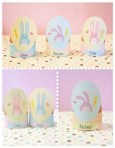 Printable Easter Egg Holder