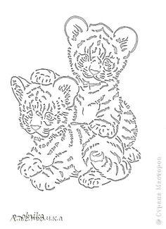 Paper Cutting Patterns, Stencil Patterns, Stencil Designs, Tiger Stencil, Wie Zeichnet Man Graffiti, Wood Burning Stencils, Intarsia Wood, Cut Animals, Graffiti Drawing