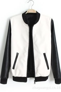 T by Alexander Wang Leather Varsity Jacket | Women Leather Jacket ...