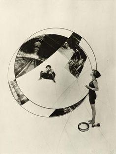 László Moholy-Nagy ,An-overwhelming-question , Gyilkosság a síneken (Murder On The Rail) (1925)