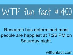 peoples happiest time - research found