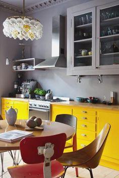 Yellow Kitchen Paint Bsm farshout.com
