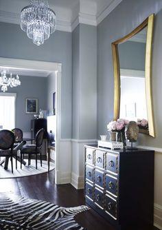 Modern & Chic Family room   Designer Greg Natale