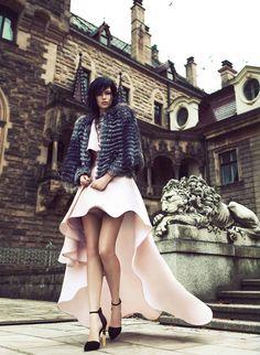 Emilia Nawarecka for Harper's Bazaar Thailand by Lukasz Pukowiec