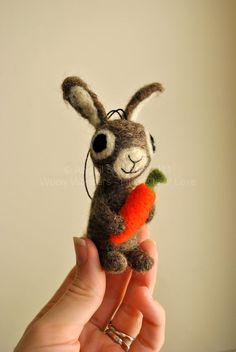 bunny  not tiny but really cute