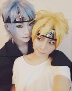 omg Mitsuki and Boruto! Why does this looks soo cute?! XD