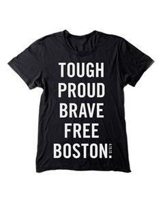 American Apparel Women's 'Honoring Boston' T-Shirt