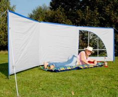 Riversway Leisure Reimo Deluxe Windbreak 6.0 mtr