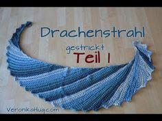 Strickvideos - Drachenstrahl - stricken strickmuster