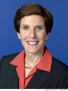 Irene Rosenfeld, CEO of KRAFT