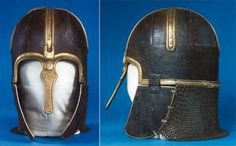 York helmet, made in York c. AD World Heritage for York Steering Group Medieval Weapons, Medieval Life, Viking Images, Museum Poster, Anglo Saxon, Dark Ages, Middle Ages, Archaeology, Vikings