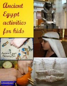 Ancient Egypt Printables & Activities (KLP Linky)