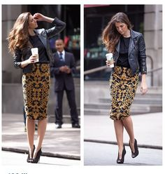Discover recipes, home ideas, style inspiration and other ideas to try. Mode Outfits, Skirt Outfits, Fall Outfits, Fashion Outfits, Womens Fashion, Work Fashion, Modest Fashion, Fashion Looks, Fashion Corner