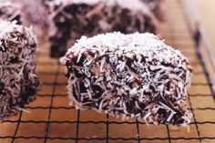 Get in the mood for Australia Day with these super-easy Lamingtons, perfect for those who can't be bothered baking!