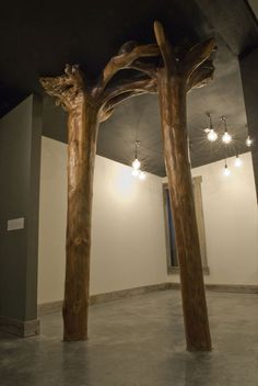 full tree pillars: Knock on Wood || jeff rouitto Gallery