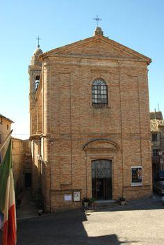 Chiesa di S Gregorio Magno XVI° sec #marcafermana #maglianoditenna #fermo #marche