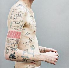 ⏩Chubster tattoo inspirations - Idée tatouage homme ⌨️tags for : - Body Art Tattoos, Small Tattoos, Tattoos For Guys, Tatoos, Poke Tattoo, Get A Tattoo, Tattoo People, Tinta China, Cool Tats