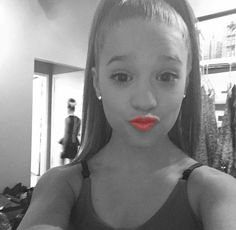My name is Mackenzie Ziegler, and I love to dance and sing!!!! I am on the show dance moms and love it!!! I have a big sister, Maddie Ziegler.