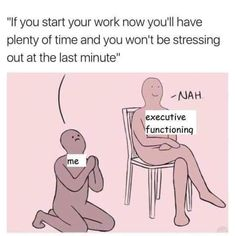 """ADHD Memes For Those Who Just Can't Stay Focused - Funny memes that """"GET IT"""" and want you to too. Get the latest funniest memes and keep up what is going on in the meme-o-sphere. John Maxwell, Mbti, Adhd Facts, Adhd Funny, Leadership, Funny Quotes, Funny Memes, Meme Meme, True Memes"""