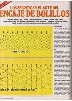 Aprender Encaje de Bolillos para principiantes - Mary Moya - Álbumes web de Picasa                                                                                                                                                                                 Más