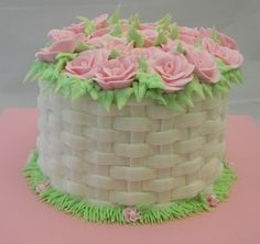 [DIY and crafts]Mothers Day cake small Cake Decorating Designs, Cake Decorating Techniques, Cake Designs, Cookie Decorating, Decorating Ideas, Cake Icing, Buttercream Cake, Eat Cake, Cupcake Cakes